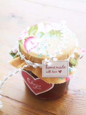 Jam labels by Eat Drink Chic