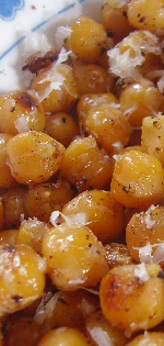 Warm Chickpea Salad with Parmesan