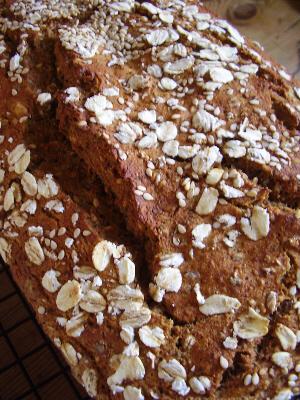 Seedy Spelt Bread