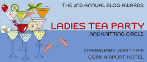 Ladies' Tea Party at the 2009 Irish Blog Awards