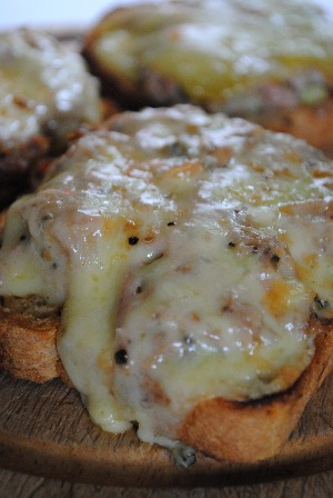 Comfort cooking: Tuna Melt