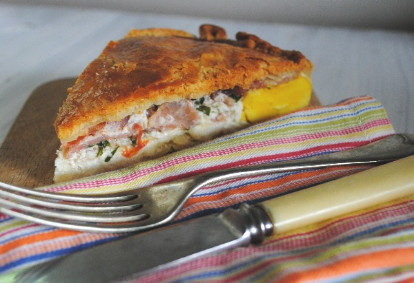 An Irish take on Bacon and Egg Pie
