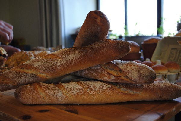 Firehouse Bakery Bread School - sourdough baguettes