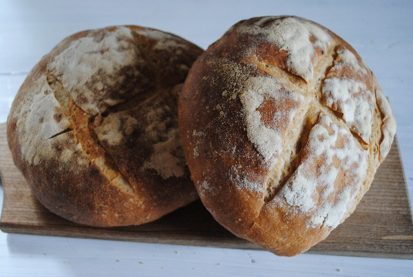 Homemade sourdough bread
