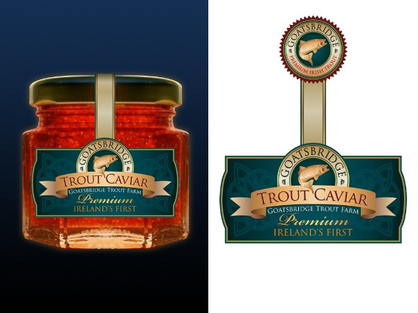 Goatsbridge Trout Caviar from Co Kilkenny