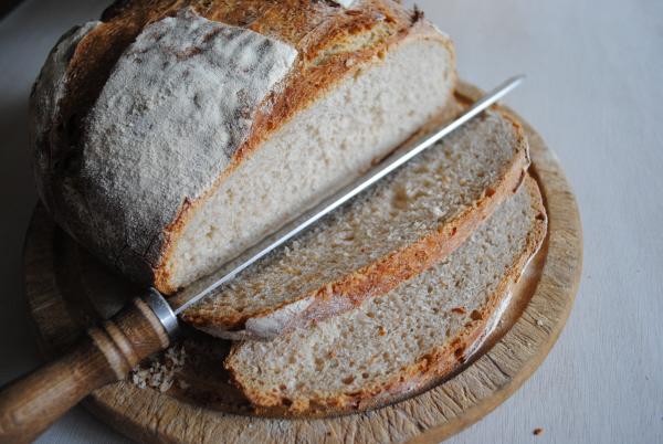 Sourdough bread from starter