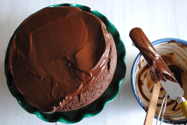 Spiced Chocolate Ale Cake