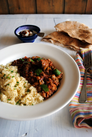 Bibliocook.com - Lamb, Chickpea and Lentil Harira