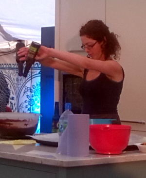Bibliocook.com - Caroline Hennessy at Theatre of Food, Electric Picnic 2013