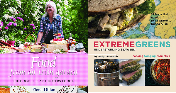 Food from an Irish Garden by Fiona Dillon & Extreme Greens by Sally McKenna