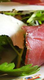 Jack McCarthy's air-dried beef in a simple salad