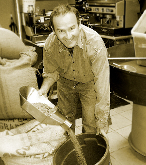 John Gowan of Cork Coffee Roasters