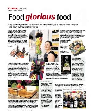 The Irish Times – Christmas supplement: Food glorious food