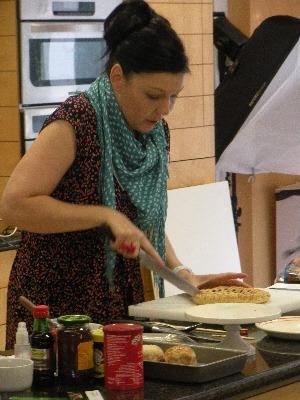 Sharon Hearne-Smith at the Irish food photography workshop