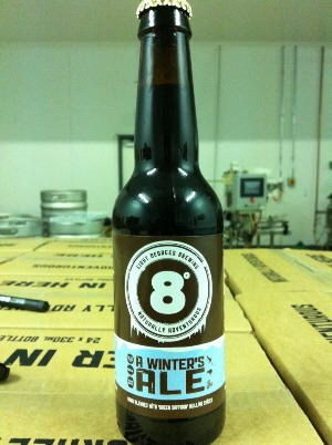 A Winter's Ale by Eight Degrees Brewing, Cork, Ireland