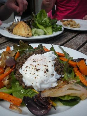 Lunch at Glebe Gardens, Baltimore