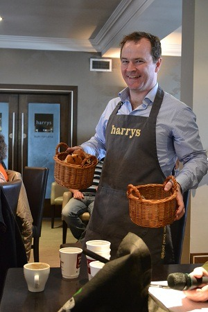 Donal Doherty of Harry's Restaurant at Inishfood