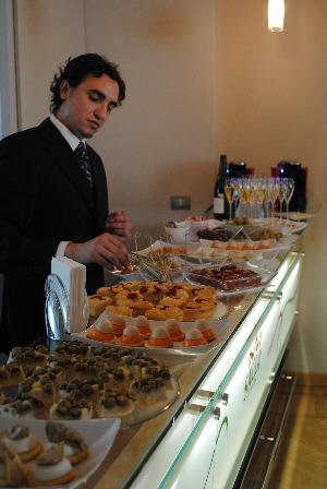 Sacla Irish food bloggers tour - lunch at Casa Sacla