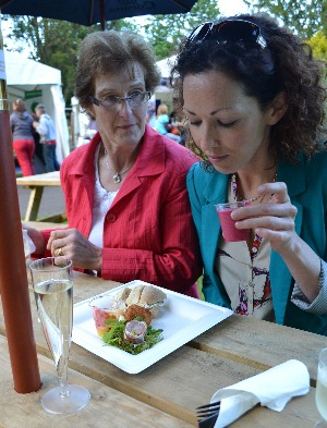 Cork Food Festival - eating