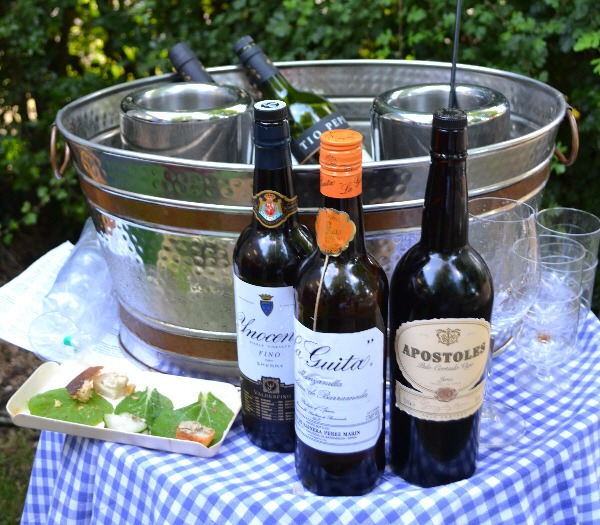 Cork Food Festival - sherry at Ballymaloe House