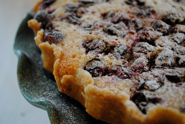 Irish Cranberry, Frangipane and Mincemeat Tart
