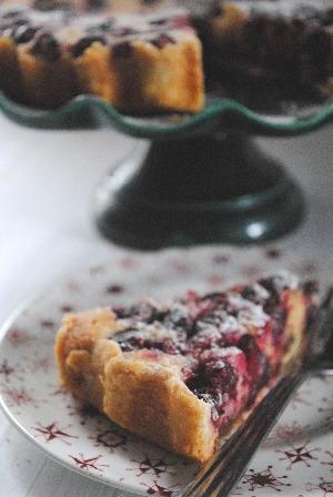 Cranberry, Frangipane and Mincemeat Tart