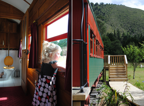 On The Track Lodge at Nydia Bay, Marlborough Sounds, New Zealand
