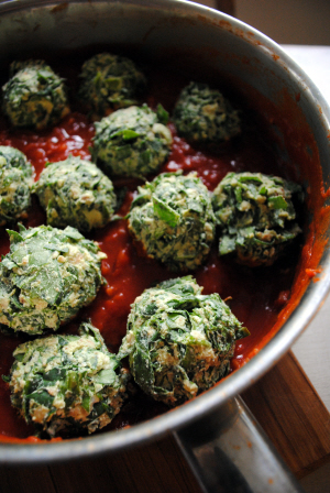 Bibliocook.com - Spinach and Ricotta Balls
