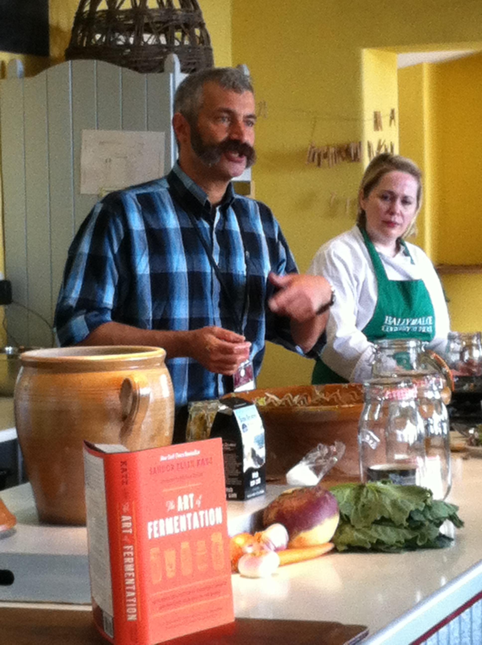 Bibliocook.com - Sandor Katz talks fermentation at Ballymaloe LifFest 2013