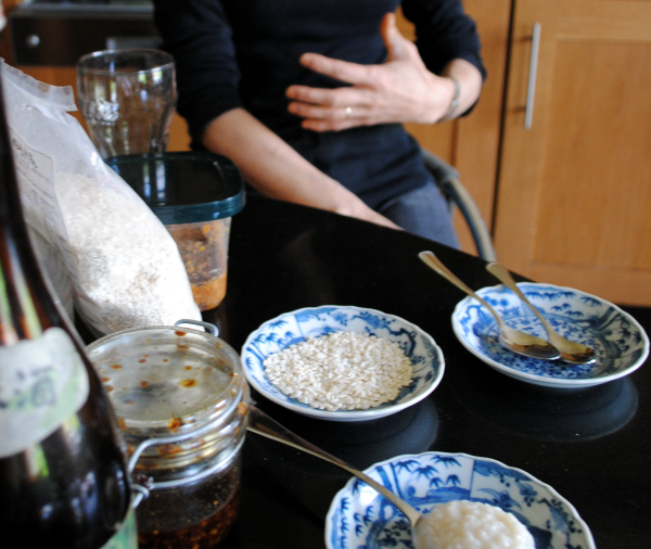 Bibliocook.com - Junko Hamilton - miso making workshop in Dublin
